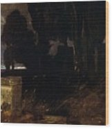 45578 Arnold Bcklin Wood Print