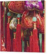 4647- Chinese Tassels Wood Print