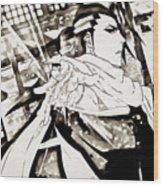 Bleach Wood Print