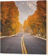 Landscaped Wood Print
