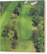 4th Hole Sunnybrook Golf Club 398 Stenton Avenue Plymouth Meeting Pa 19462 1243 Wood Print