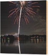 4th Of July Wood Print by Lone Dakota Photography