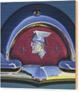 1953 Mercury Monterey Emblem Wood Print