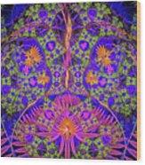 Abstract Graphics Wood Print