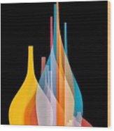 Abstract Wall Design Wood Print
