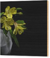 Alstroemeria Flower Wood Print