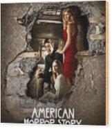 American Horror Story 2011 Wood Print