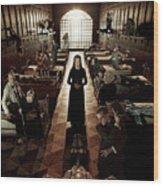 American Horror Story Asylum 2012 Wood Print