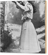 Annie Oakley (1860-1926) Wood Print by Granger