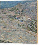 Appalachian Trail - White Mountains New Hampshire Usa Wood Print