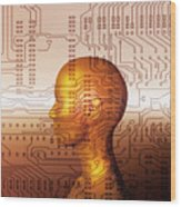 Artificial Intelligence Wood Print