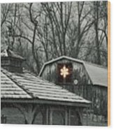Barn Star Wood Print