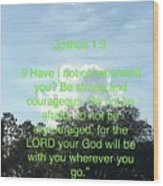 Bible Verse  Wood Print