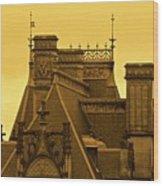 Biltmore Estate Wood Print