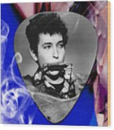 Bob Dylan Art Wood Print