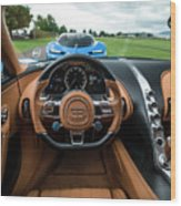 Bugatti Chiron And Vision Gt Wood Print