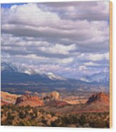 Capitol Reef National Park Burr Trail Wood Print