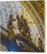 Cathedral Of Seville - Seville Spain Wood Print