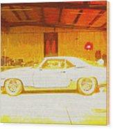 Chevrolet Camaro Wood Print