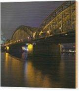 Cologne Germany Wood Print