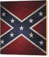 Confederate Flag 8 Wood Print