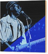 Curtis Mayfield Collection Wood Print
