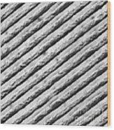 Diffraction Grating Tem Wood Print