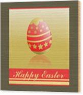 Easter. Wood Print
