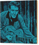 Eddie Cochran Collection Wood Print