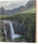 Fairy Pools - Isle Of Skye Wood Print