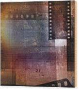 Film Strips 3 Wood Print