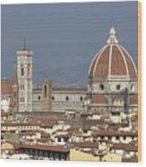 Florence Wood Print by Joana Kruse