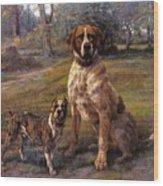 Good Friends Edmund Henry Osthaus Wood Print