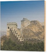 Great Wall Of China - Jinshanling Wood Print