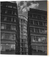 Hamburg  Wood Print