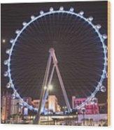 High Roller - Las Vegas Nevada Wood Print