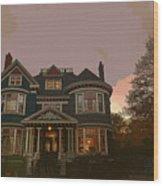 House Wood Print