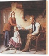 In Disgrace William Henry Midwood Wood Print