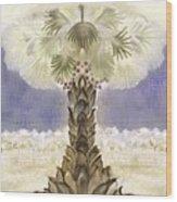 Jerusalem- Tryptich Part  2 Wood Print