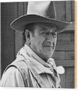 John Wayne Rio Lobo Old Tucson Arizona 1970 Wood Print