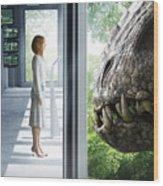 Jurassic World 2015  Wood Print