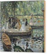 La Grenouillere Wood Print