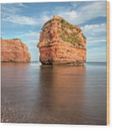 Ladram Bay - England Wood Print