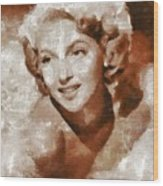 Lana Turner Vintage Hollywood Actress Wood Print