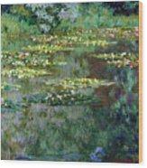 Le Bassin Des Nympheas Wood Print
