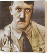 Leaders Of Wwii, Adolf Hitler Wood Print