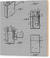 Lighter Patent From 1934 Wood Print