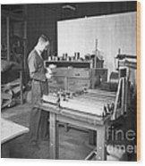 Luis Alvarez, American Physicist Wood Print