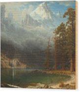 Mount Corcoran Wood Print