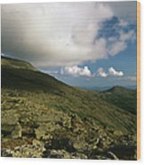 Mount Washington - White Mountains New Hampshire Usa Wood Print
